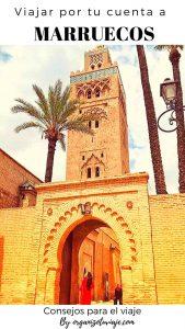 Viajar a Marruecos por tu cuenta