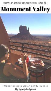 Dónde dormir en Monument Valley