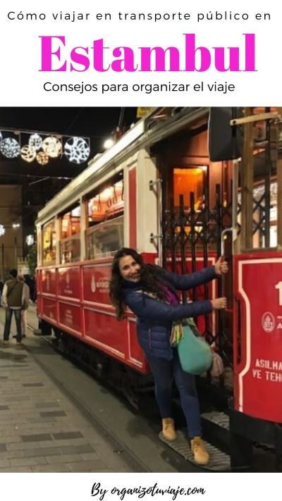 Como moverte en transporte público por Estambul, Turquía