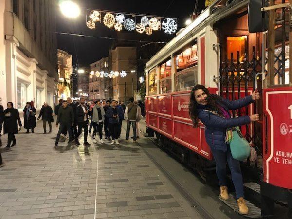 transporte público en Estambul