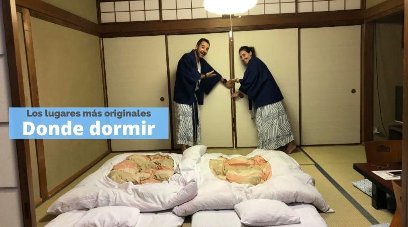 Lugares más originales donde dormir