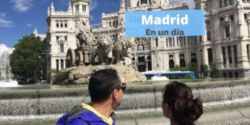Qué ver y hacer en Madrid en un día. España by organizotuviaje.com