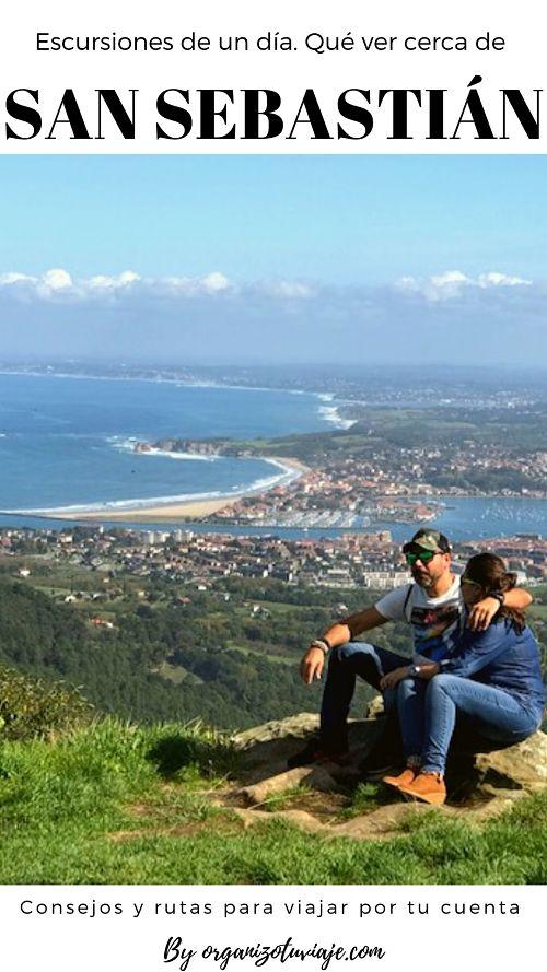 Qué ver y hacer cerca de San Sebastián. Excursiones de un día. España by organizotuviaje.com