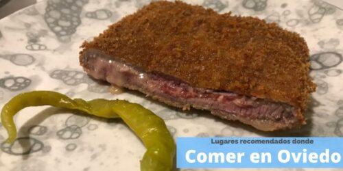 Donde comer bien y barato en Oviedo. Lugares reocmendados.