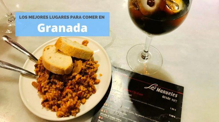 Las mejores tapas en Granada, Andalucía, España