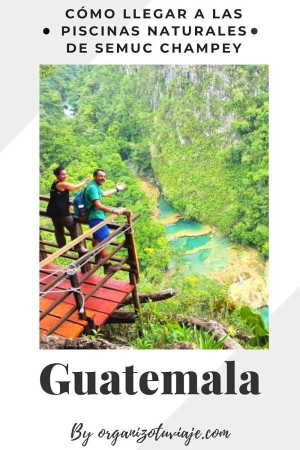 Qué ver y hacer en Semuc Champey, Lanquín, Guatemala