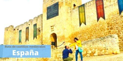 ruta de castillos por España