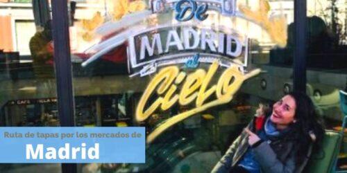 los mejores mercados de Madrid donde ir de tapas by organizotuviaje.com