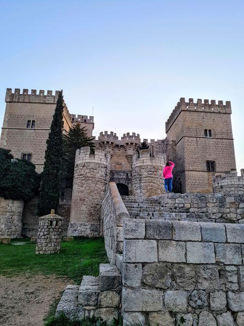 castillo de ampudia, castillos medievales en España