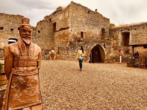 Ruta de castillos medievales en España