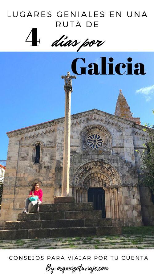 Ruta de 4 días por Galicia by organizotuviaje.com