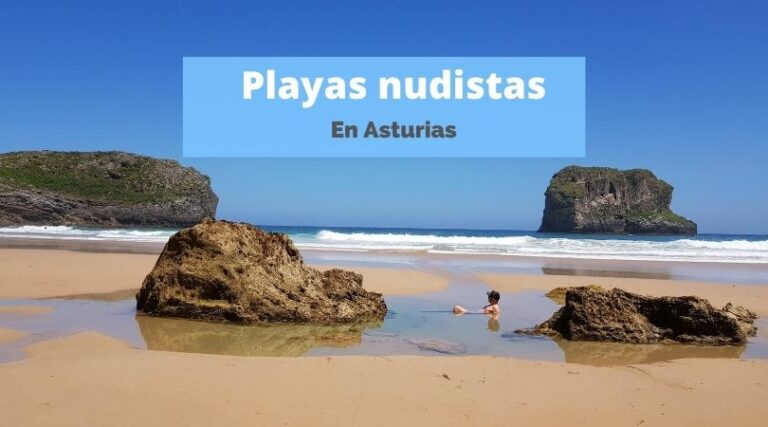 las mejores playas nudistas de Asturias