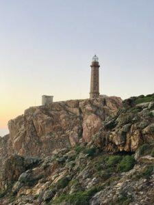 faro de Cabo Vilán, Camariñas. Uno de los faros más impresionantes de Galicia