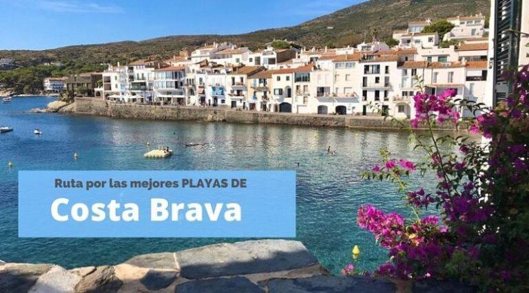 Las mejores playas de Costa Brava, Cataluña, España