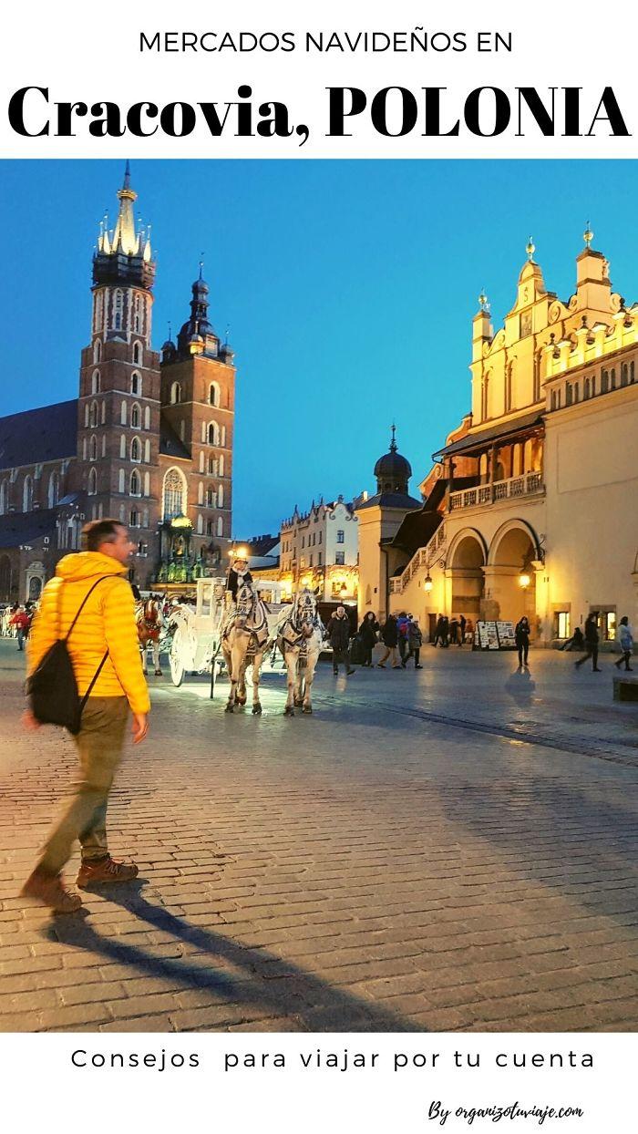 mercado navideño de Cracovia