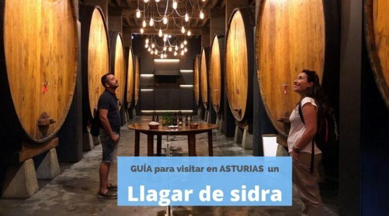 Vistar un llagar de sidra en Asturias