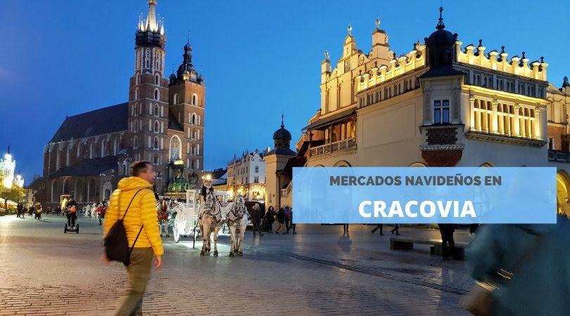 Mercados navideños en Cracovia, Polonia