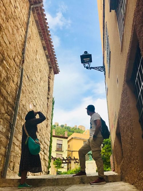 castillos medievales en España. Jaén