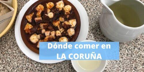 DONDE COMER EN LA CORUÑA