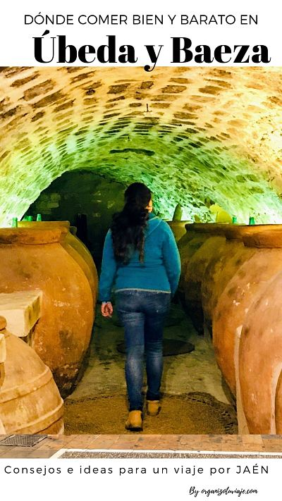 dónde comer en Úbeda y Baeza,Jaén