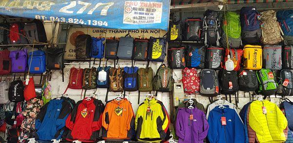 Compras en Hanoi North Face