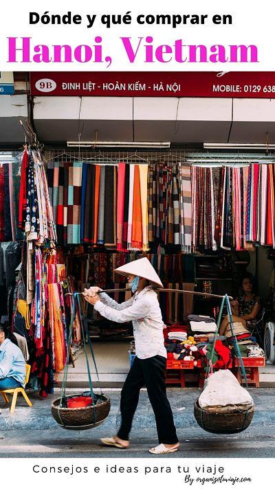 Compras en Hanoi