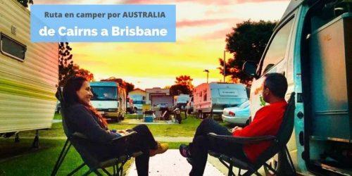 Ruta en camper por Australia