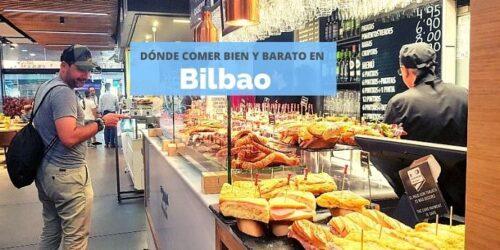 Comer bien y barato en Bilbao