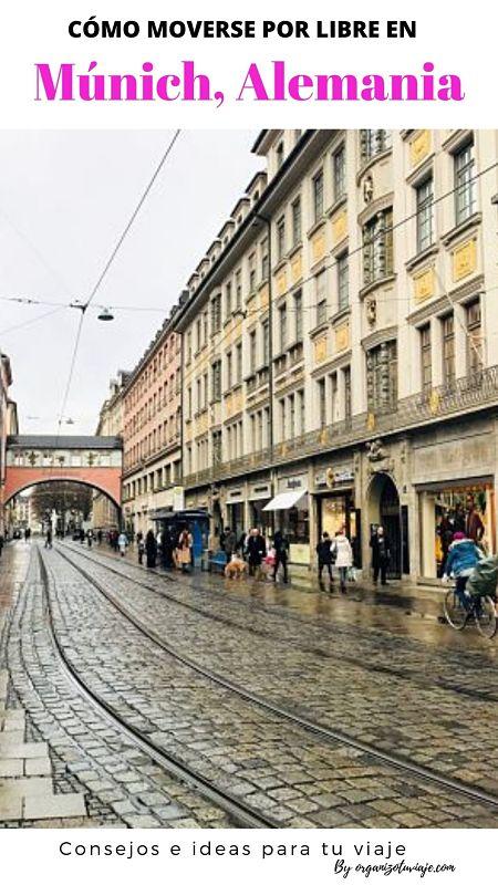 TRANSPORTE público en MUNICH. Cómo moverse + MAPAS en PDF
