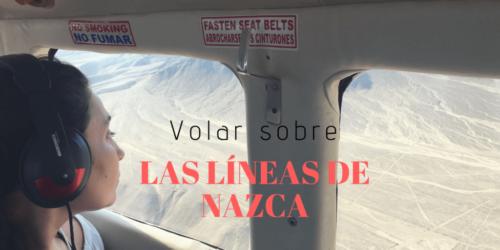 Sobrevolar las líneas de Nazca