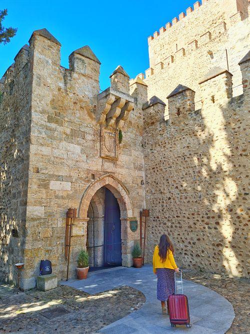 Castillo de Ciudad Rodrigo. Castillos medievales en España