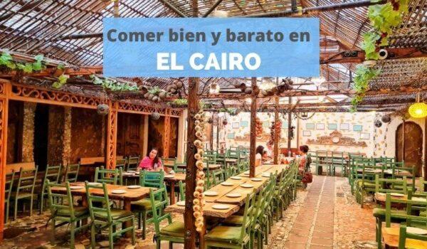 Donde comer en CAIRO barato
