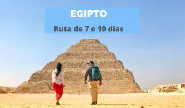 Itinerario por Egipto de una semana o 10 días